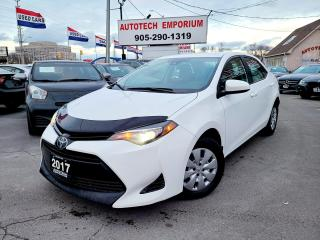 Used 2017 Toyota Corolla Camera/Bluetooth/All Power/Lane Warning&GPS* for sale in Mississauga, ON