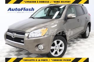 Used 2011 Toyota RAV4 LIMITED 3.5L V6* RARE* TOIT-OUVRANT/SUNROOF* CUIR* for sale in Saint-Hubert, QC
