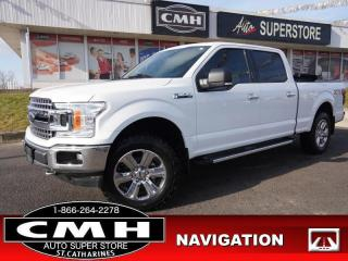 Used 2019 Ford F-150 XLT  NAV CAM HTD-SEATS P/SEATS TOW 20-AL for sale in St. Catharines, ON