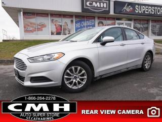 Used 2015 Ford Fusion S  CAM BLUETOOTH REM-START 16-AL for sale in St. Catharines, ON