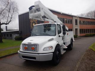 Used 2010 Freightliner M2106 Cummins Diesel Bucket Truck With Air Brakes for sale in Burnaby, BC