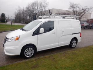 Used 2015 Chevrolet City Express Cargo Van Roof Rack Rear Ladder Rack And Rear Shelving for sale in Burnaby, BC
