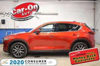 Used 2018 Mazda CX-5 GT AWD | LEATHER | NAVIGATION | SUNROOF for sale in Ottawa, ON