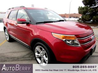 Used 2011 Ford Explorer Limited FWD for sale in Woodbridge, ON