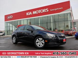 Used 2014 Chevrolet Cruze 1LT | B/U CAM | PWR GROUP | B/TOOTH | 30,726 KM | for sale in Georgetown, ON