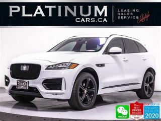 Used 2017 Jaguar F-PACE 35t R-Sport, 340HP, NAV, AWD, CAM, HEATED for sale in Toronto, ON