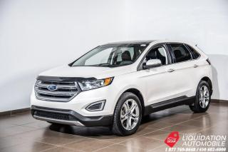 Used 2016 Ford Edge TITANIUM AWD+TOIT PANO+VOLANTS/SIEG CHAUFF+MAGS for sale in Laval, QC