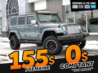 Used 2014 Jeep Wrangler SAHARA UNLIMITED   ''AUTOMATIQUE'' for sale in Ste-Marie, QC