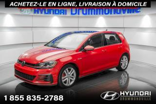 Used 2018 Volkswagen Golf GTI GARANTIE + NAVI + TOIT + CUIR + MAGS + W for sale in Drummondville, QC