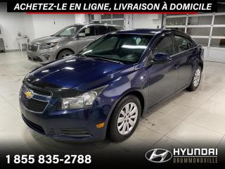 Used 2011 Chevrolet Cruze LT  + GARANTIE + A/C + CRUISE + WOW !! for sale in Drummondville, QC