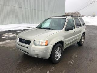 Used 2003 Ford Escape Limited 4 portes, quatre roues motrices for sale in Québec, QC
