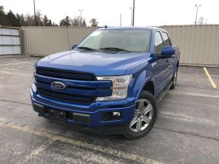 Used 2018 Ford F-150 Lariat CREW SPORT 4WD for sale in Cayuga, ON