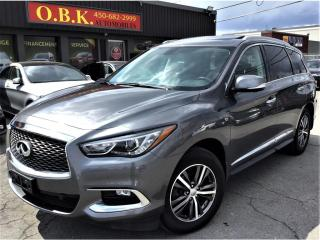 Used 2016 Infiniti QX60 PREMIUM ASSIST-NAVI-CAM 360-TOIT-7 PASSAGERS-AWD for sale in Laval, QC