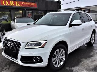 Used 2016 Audi Q5 Quattro-2.0T-Progressiv-TOIT PANORAMIQUE-BLUETOOTH for sale in Laval, QC