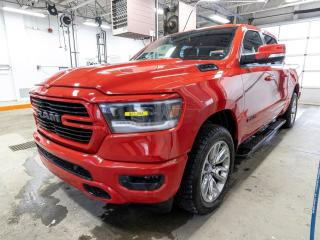 Used 2019 RAM 1500 SPORT CREW 4X4 ALERTES CUIR NAV TOIT PANO *BAS KM* for sale in Mirabel, QC