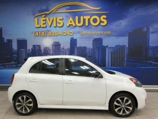 Used 2015 Nissan Micra SR AUTOMATIQUE AIR CLIMATISE BANC CHAUFF for sale in Lévis, QC
