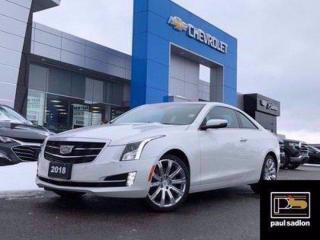 Used 2018 Cadillac ATS Coupe PREMIUM LUXURY AW for sale in Barrie, ON