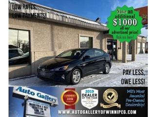 Used 2020 Hyundai Elantra Preferred* B.tooth/Htd seats/Sunroof/Low Kms for sale in Winnipeg, MB