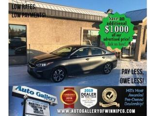 Used 2020 Kia Forte EX* LOW KMS/Bluetooth/HEATED SEATS for sale in Winnipeg, MB