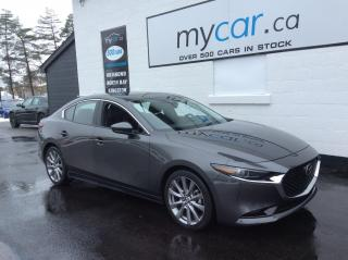 Used 2019 Mazda MAZDA3 GT LEATHER, SUNROOF, HEATED SEATS, BEAUTY CAR!! for sale in North Bay, ON
