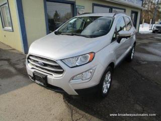 Used 2018 Ford EcoSport FOUR-WHEEL DRIVE SE EDITION 5 PASSENGER 2.0L - DOHC.. NAVIGATION.. HEATED SEATS.. POWER SUNROOF.. BACK-UP CAMERA.. BLUETOOTH SYSTEM.. for sale in Bradford, ON