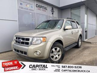 Used 2011 Ford Escape Limited 4WD V6 Leather! Heated Seats! Sunroof! for sale in Edmonton, AB
