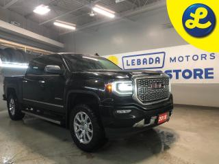 Used 2018 GMC Sierra 1500 Denali Crew Cab 4X4 * Navigation * Heated/Vented Leather Sears * Power Sliding Rear Window * Sunroof * Rear Vision Camera with dynamic guide lines  * for sale in Cambridge, ON
