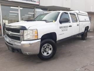 Used 2008 Chevrolet Silverado 2500 HD ***REAR PICKUP TRUCK CAP***NO ACCIDENTS*** for sale in Oakville, ON