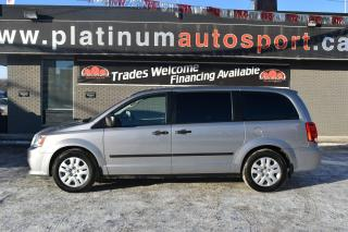 Used 2016 Dodge Grand Caravan SE/SXT TV ENTERTAINMENT SYSTEM!! SECOND ROW BUCKET SEATS!! STOW AND GO SEATS!! for sale in Saskatoon, SK