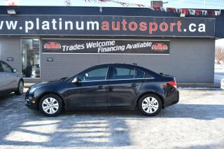 Used 2015 Chevrolet Cruze 1LT 5-SPEED!! SUNROOF!! BACKUP CAMERA!! BLUETOOTH!! for sale in Saskatoon, SK
