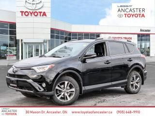 Used 2017 Toyota RAV4 XLE AWD Sunroof Alloys Backup cam Htd seats for sale in Ancaster, ON