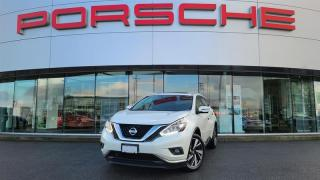 Used 2017 Nissan Murano Platinum AWD CVT for sale in Langley City, BC
