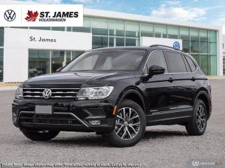 New 2021 Volkswagen Tiguan COMFORTLINE for sale in Winnipeg, MB