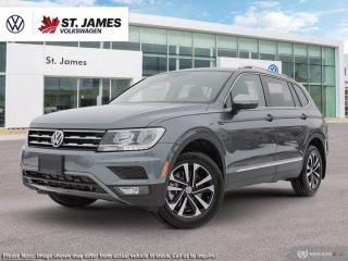 New 2021 Volkswagen Tiguan United for sale in Winnipeg, MB