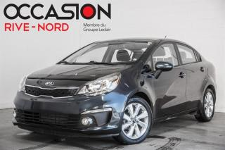 Used 2017 Kia Rio EX MAGS+SIEGES.CHAUFFANTS+CAM.RECUL for sale in Boisbriand, QC