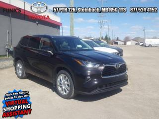 New 2021 Toyota Highlander Limited  - Leather Seats for sale in Steinbach, MB