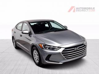 Used 2017 Hyundai Elantra LE A/C GROUPE ELECTRIQUE for sale in Île-Perrot, QC