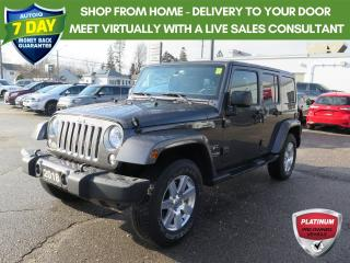 Used 2018 Jeep Wrangler JK Unlimited Sahara 1 owner trade for sale in St. Thomas, ON