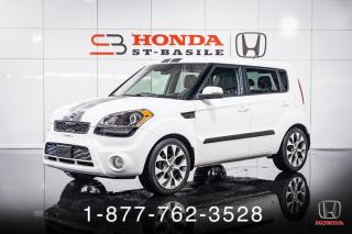 Used 2013 Kia Soul 4U + AUTO + CUIR + TOIT + MAGS + WOW! for sale in St-Basile-le-Grand, QC