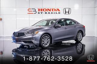 Used 2018 Acura TLX CUIR + TOIT + A/C + CAMERA + MAGS + WOW! for sale in St-Basile-le-Grand, QC