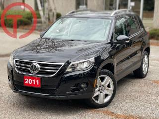Used 2011 Volkswagen Tiguan Highline for sale in Burlington, ON