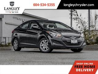 Used 2016 Hyundai Elantra GL  Bluetooth/ Accident free/ Locally Driven for sale in Surrey, BC