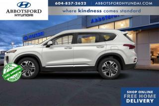 Used 2020 Hyundai Santa Fe North  - Navigation -  Sunroof - $110 B/W for sale in Abbotsford, BC
