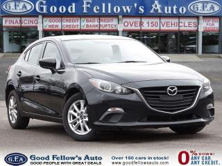 Used 2016 Mazda MAZDA3 GS SKYACTIV, REARVIEW CAM, HEATED SEATS, BLUETOOTH for sale in Toronto, ON