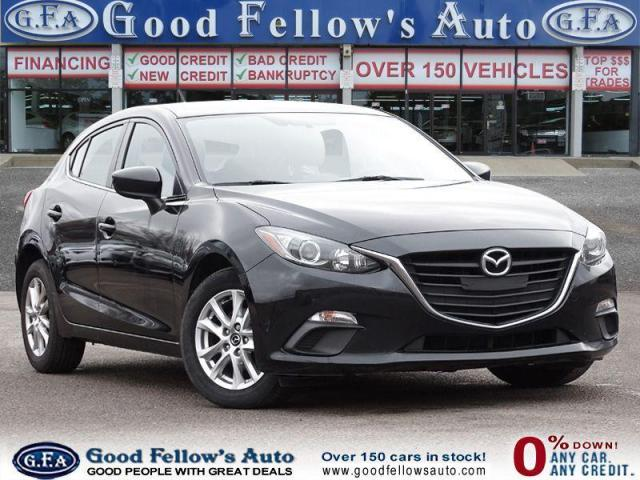 2016 Mazda MAZDA3 GS SKYACTIV, REARVIEW CAM, HEATED SEATS, BLUETOOTH