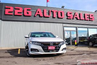 Used 2019 Honda Accord Sport|ACCIDENT FTREE|BACKUP CAM|SINROOF for sale in Brampton, ON