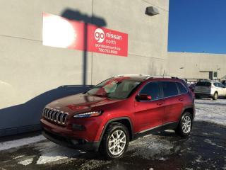 Used 2017 Jeep Cherokee NORTH/4X4/KEYLESS ENTRY/HEATED STEERING/REMOTE START for sale in Edmonton, AB