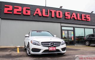 Used 2018 Mercedes-Benz C-Class C 300 AMG ACCIDENT FREE BACKUP CAM LEATHER for sale in Brampton, ON