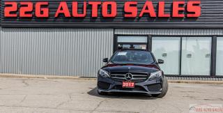 Used 2017 Mercedes-Benz C-Class C 300|AMG|ACCIDENT FREE|BACKUP CAM|SUNROOF for sale in Brampton, ON
