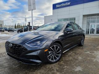 New 2021 Hyundai Sonata Ultimate - 1.6T Nav, Heads Up Display, Smart Park Assist, Wireless Charging for sale in Edmonton, AB